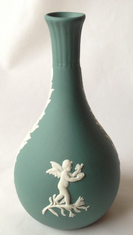 Nivag Collectables Wedgwood Teal Green Jasperware Teal