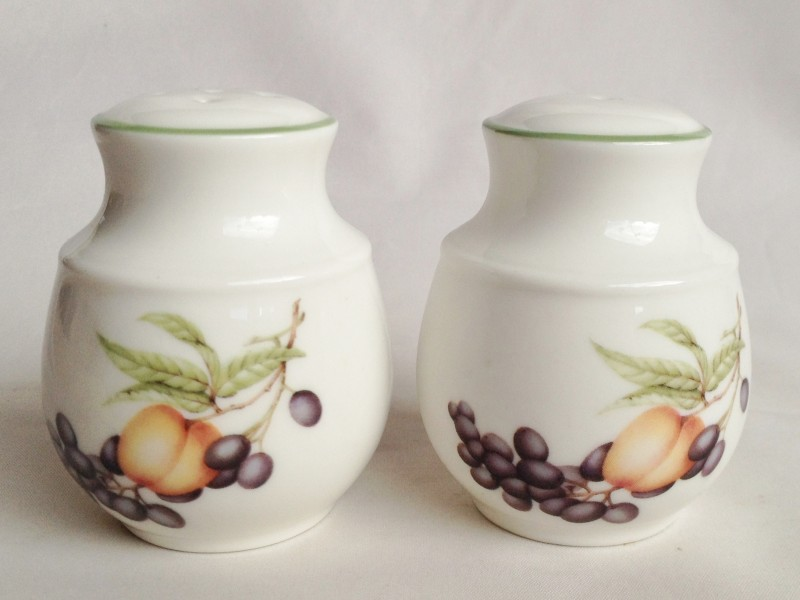 Nivag collectables marks and spencer ashberry salt and Salt n pepper pots