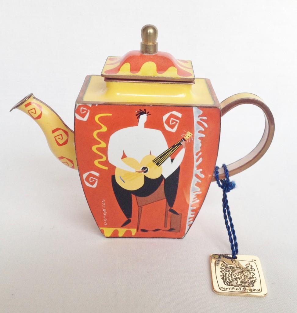 nivag collectables charlotte di vita guitar funk jc05 guitar funk teapot boxed. Black Bedroom Furniture Sets. Home Design Ideas