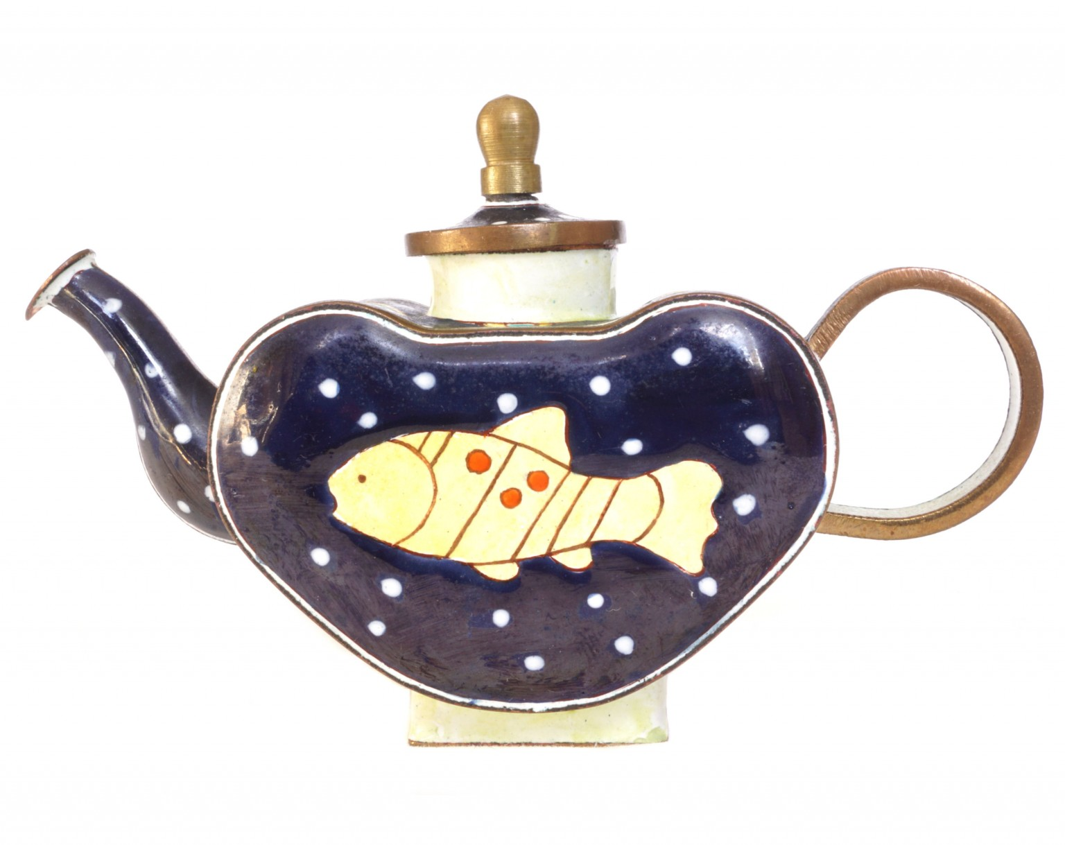 nivag collectables trade plus aid yellow fish yellow fish teapot boxed. Black Bedroom Furniture Sets. Home Design Ideas