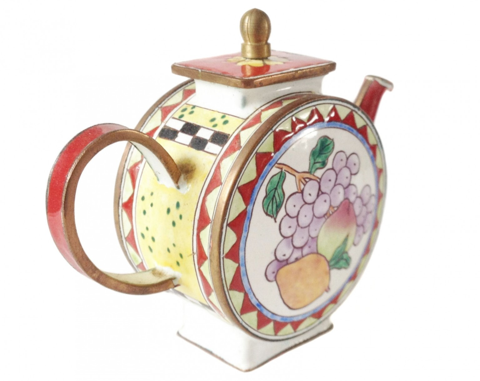 nivag collectables trade plus aid fruit trade plus aid fruit teapot. Black Bedroom Furniture Sets. Home Design Ideas