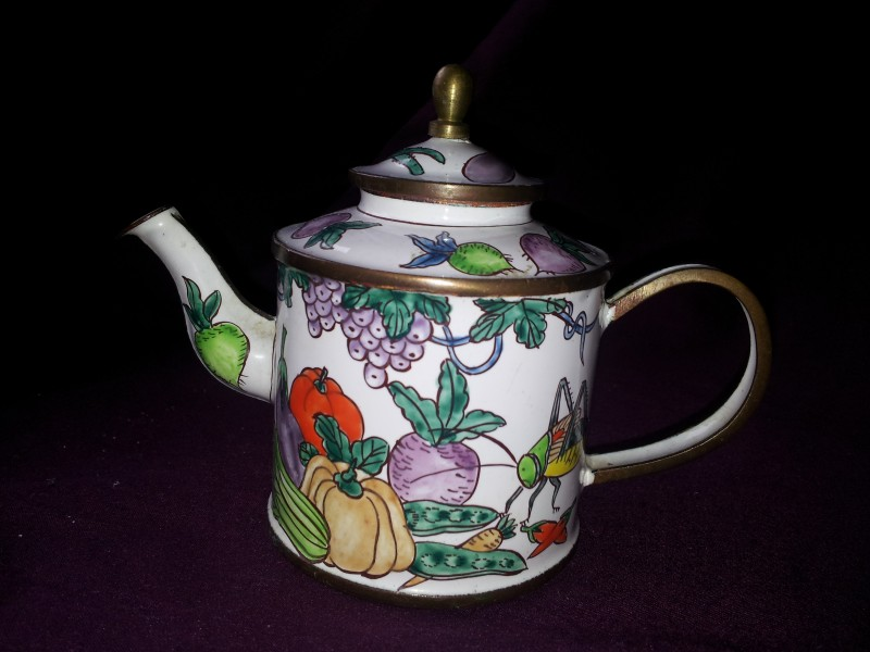 nivag collectables charlotte di vita fruit 65 trade aid fruit teapot. Black Bedroom Furniture Sets. Home Design Ideas