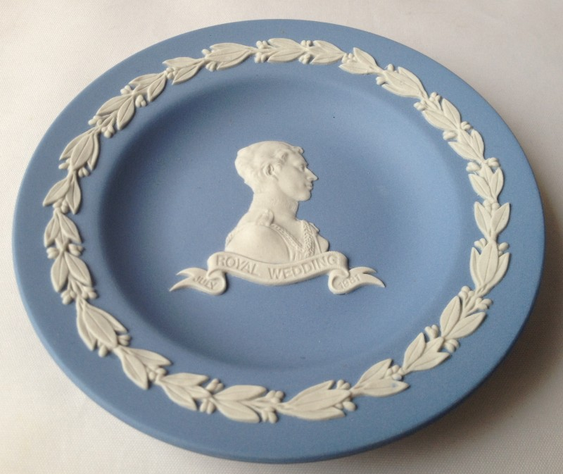 Nivag collectables charles and diana royal wedding for Diana dishes