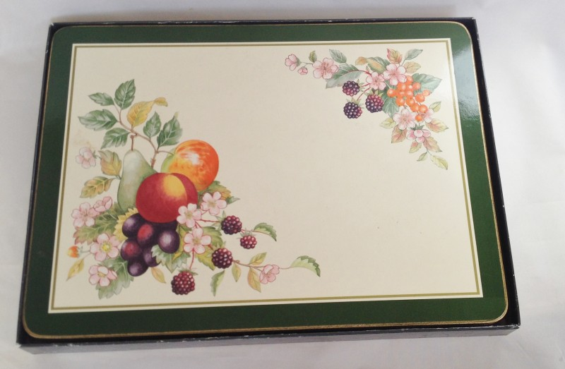 Nivag Collectables Cloverleaf Fresh Fruit Table Mats X 6