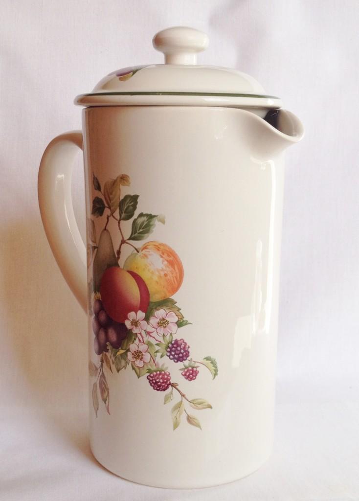 Nivag Collectables Cloverleaf Fresh Fruit Ceramic
