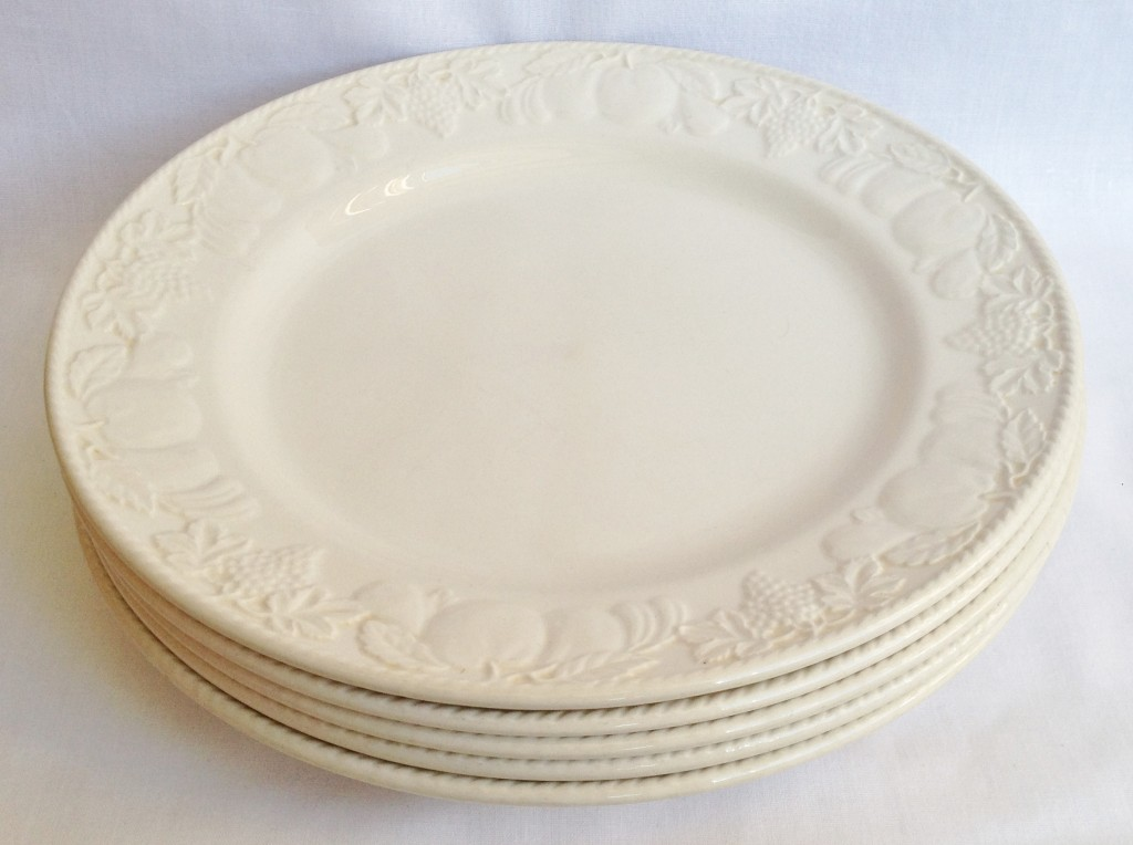 Dinner Plates x 5. Barratts Lincoln & Nivag Collectables: Barratts - Lincoln: Dinner Plates x 5