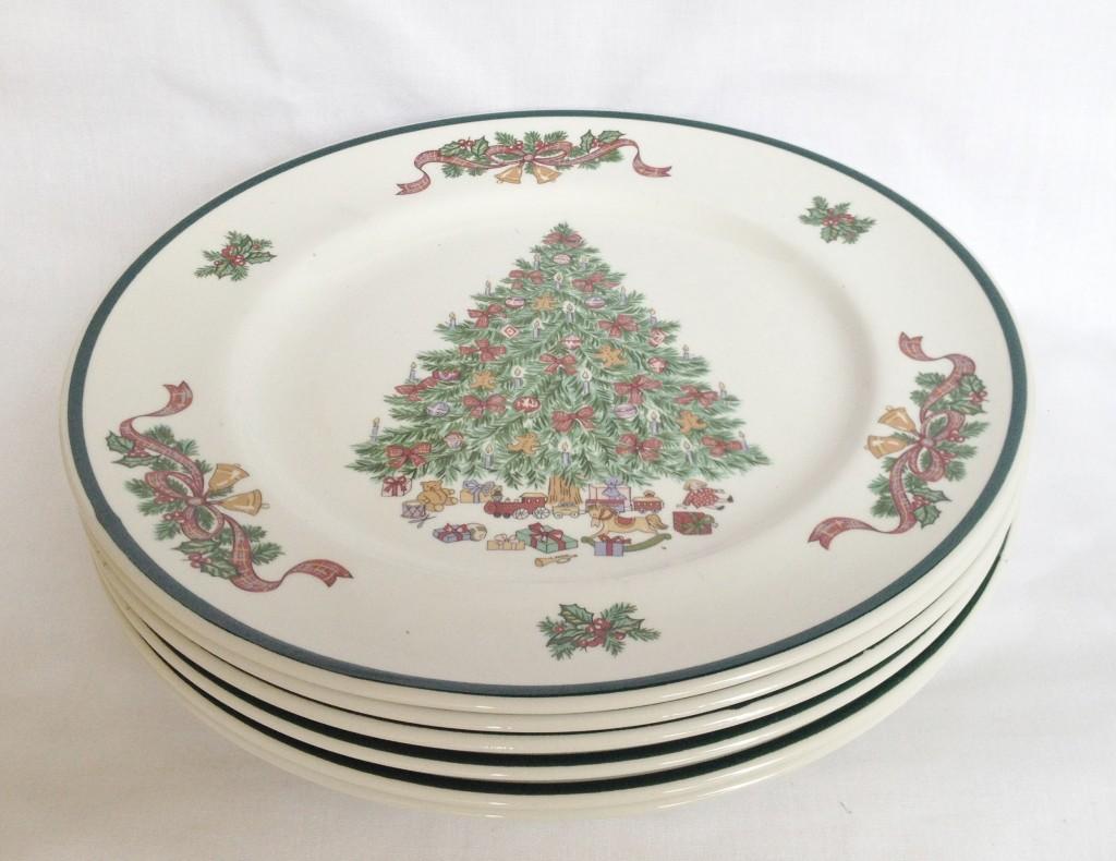 Tree Dinnerware Uk & Christmas Dinnerware Set S Dishes Service For ...