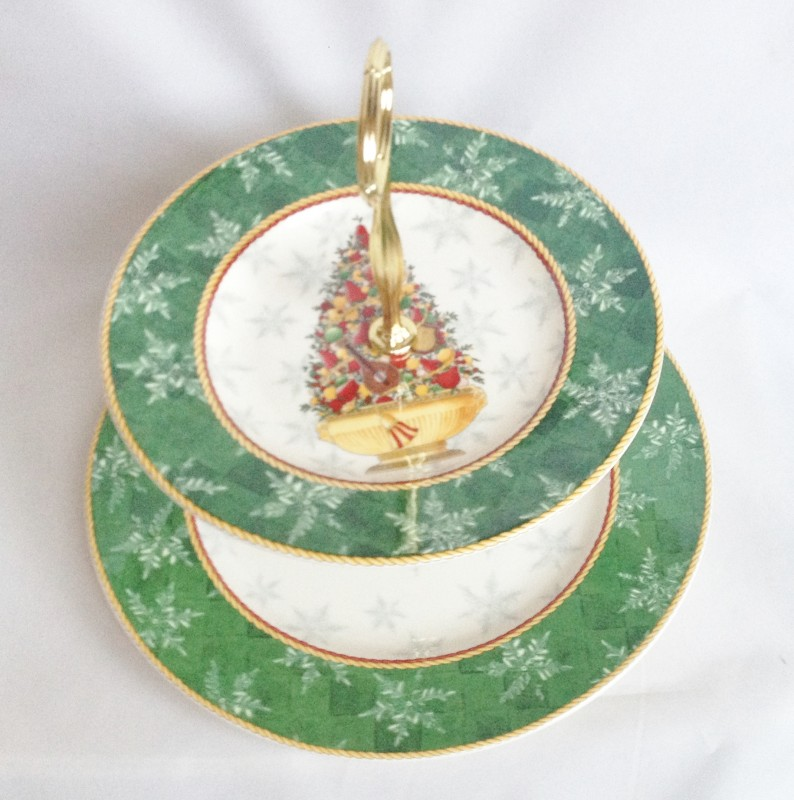 Image Result For Moorcroft Cake Stand