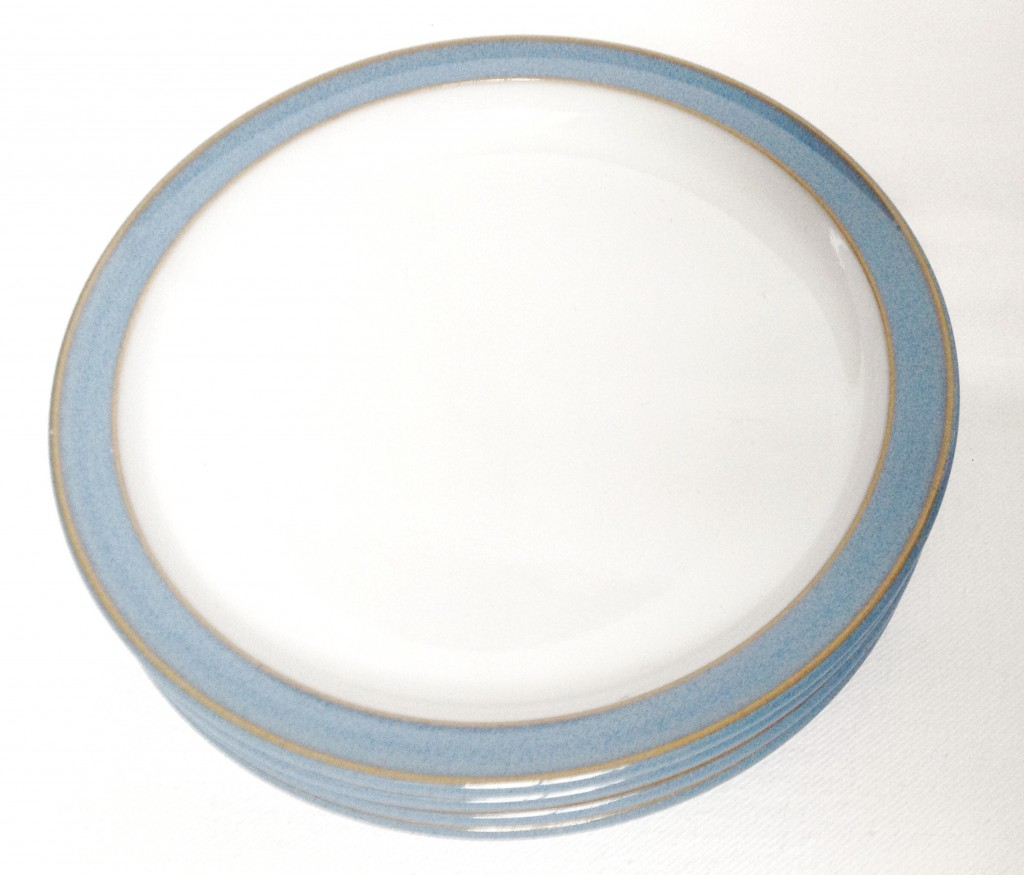 Denby Colonial Blue  sc 1 st  Nivag Collectables & Nivag Collectables: Denby - Colonial Blue: Set of 4 Tea Plates